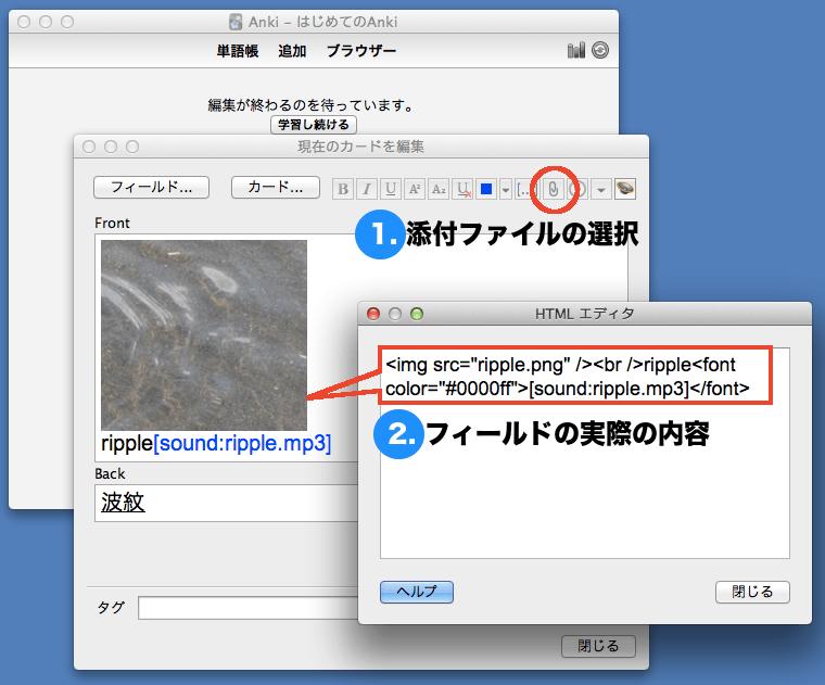 HTML エディタで内容を確認