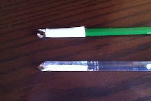 普段使いの筆記具をタッチペンにする